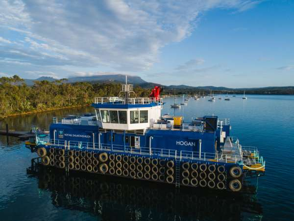 600T OFFSHORE FEED BARGE