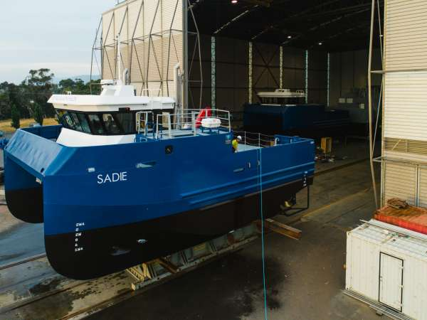 15M Net Cleaner Catamaran